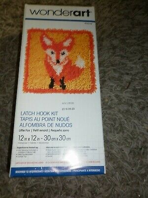 Latch Hook Wonderart Kit Wolf Still In Packet