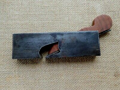 """Vintage Spiers style 5/8"""" rebate wood plane small size infill woodwork / pc"""