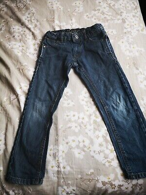 Boys Firetrap Jeans 4-6 Years Dark Blue Denim Straight Leg V Good