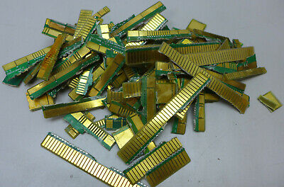1lb Gold Fingers removed from Circuit Boards