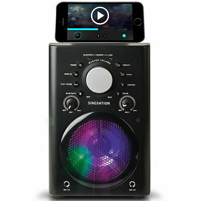 808 Audio Singsation Wireless Bluetooth Karaoke Machine w/ Mic