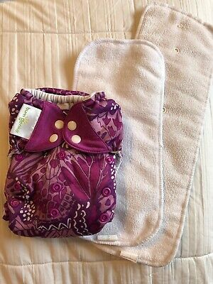 Bumgenius 4.0 One Size OS Pocket Cloth Diaper W/ Inserts Limited Edition Patch