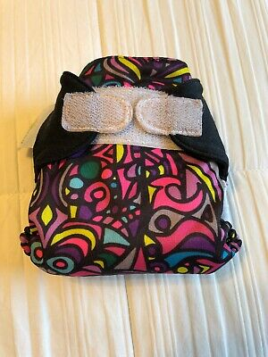 Bumgenius Cloth Diaper HTF Rare - Newborn NB XS Chelsea Perry Piccadilly Circus