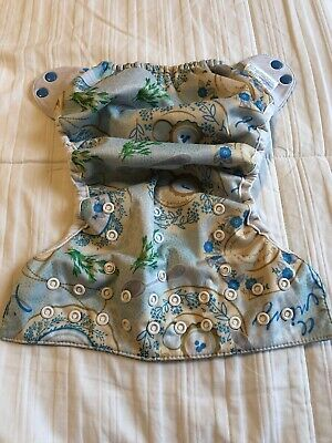 Bumgenius One Size OS Cloth Diaper Flip Cover - Limited Edition - Austen Teacup