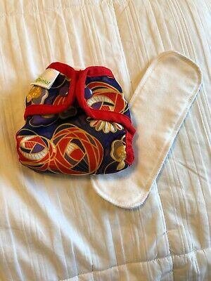 Bumgenius 2.0 Cloth Diaper With Snaps Limited Edition - Newborn Size NB - Maggie