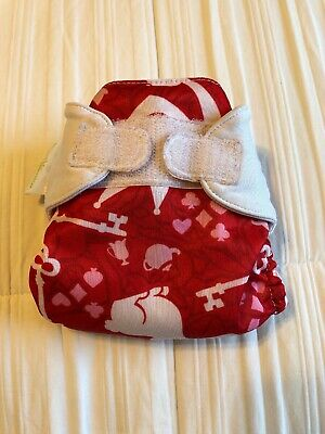 Bumgenius Cloth Diaper Limited Edition HTF Rare - Newborn NB XS Carroll Carol