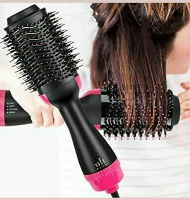 One Step Hair Dryer and Styler, Hot Air Brush, Wet, Curly, Straight, Tangle Free