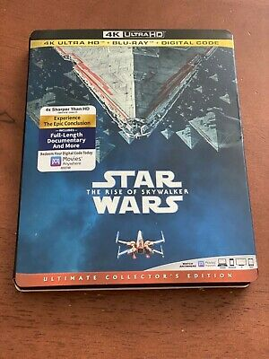 Star Wars: The Rise of Skywalker 4K UHD Blu-ray 3-Disc Set bluray