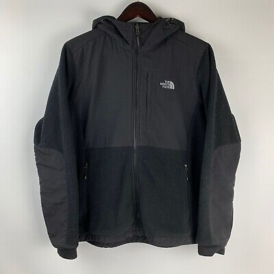 The North Face Hooded Denali Recycled Polartec Fleece Jacket Women's Size Large