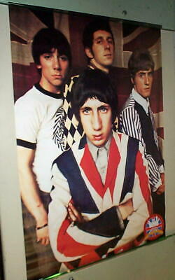 """1960/'s /""""The Who/"""" British Rock Group Tabletop Standee 11/"""" Long"""