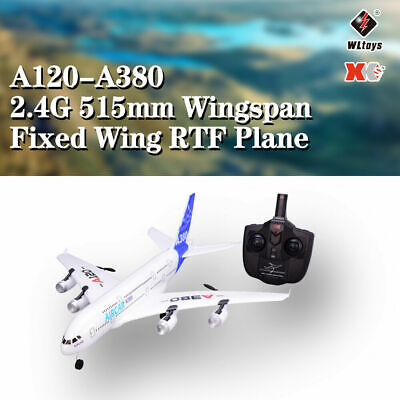 Wltoys A120 Airbus A380 Model Plane 3CH 2.4G EPP RC Airplane Fixed-wing RTF V2O5