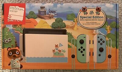 Nintendo Switch HAC-001(-01) Animal Crossing: New Horizon Special Edition - 32GB