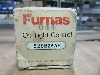 Furnas 52SB2AAB Oil Tight Control Know Assembly NEW!!! in Box Free Shipping