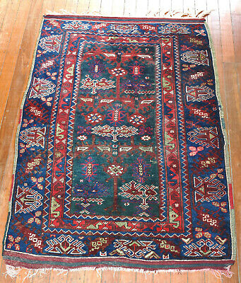 Superb Antique Hand Knotted Wool Turkish Dosemealti Pile Rug