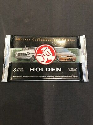 HOLDEN , Master Collection 2nd EDITION, Collector Cards , 20 Packs =$60.00