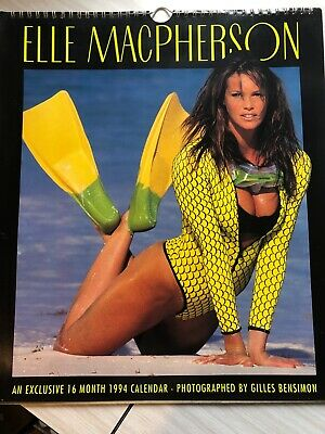ELLE MACPHERSON 1994 CALENDAR * rare and collectable perfect condition