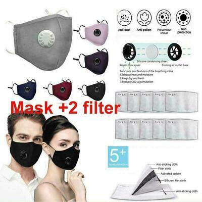 Cycling Protective Mouth Cover Haze Fog Activated Carbon Filter Mouth Shield