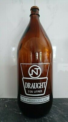 Retro NT Draught 2.25 litres bottle with cap - empty