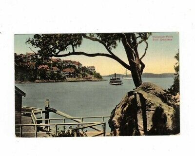 AUSTRALIA  Postcard, MUSGRAVE POINT from CREMORNE Sydney NSW