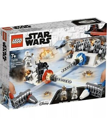 Star Wars TM: Action Battle Hoth™ Generator Attack (75239) [LEGO] New And Sealed