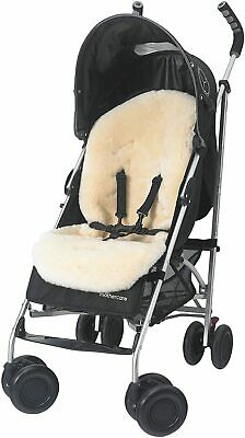 Mothercare Luxury 100% Natural Sheepskin Liner For Pushchair, Stroller, Car Seat