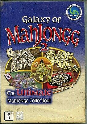 Galaxy of Mahjongg 2 (PC CD-ROM)