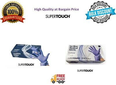 Disposable Gloves Powder Free Latex Free Nitrile Gloves Multi use Supertouch