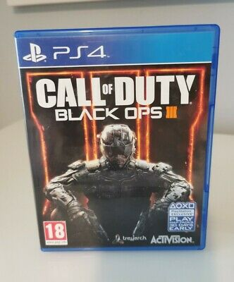 Call Of Duty Black Ops 3 III Playstation 4 PS4 GAME