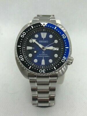 Seiko Prospex Turtle 200m Diver SRPC25K1 Blue/Black (ONLY 1x Month old)