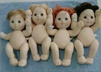 MATTEL x 4 My Child Dolls, in good condition for age, Taiwan made