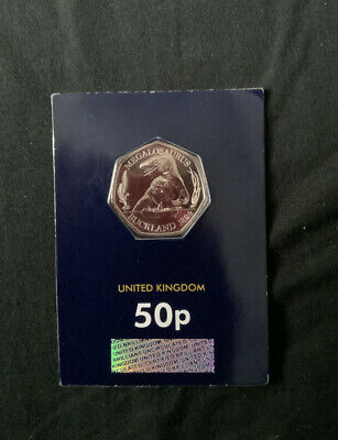 50p Megalosaurus Dinosaur Fifty Pence Coin BUNC SEALED 2020 NEW RELEASE!!!