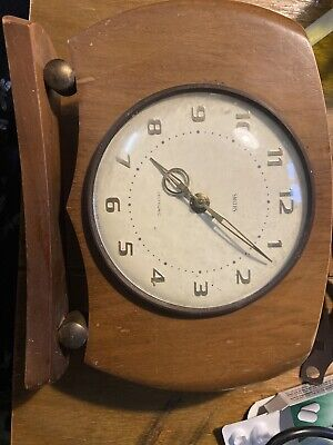 VINTAGE 1950s SMITHS SECTRONIC MID CENTURY ELECTRONIC MANTEL CLOCK