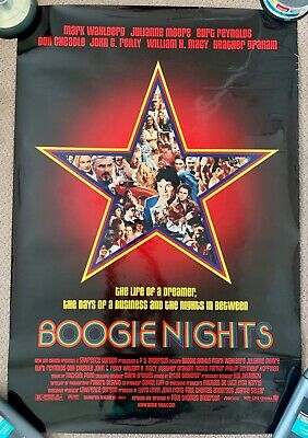 13 x 19 Boogie Nights Movie Poster Reprint