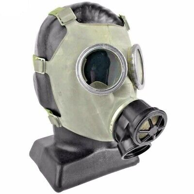 Polish Gas Mask Respirator 40mm New/Old stock Respirator Unissued Military LARGE