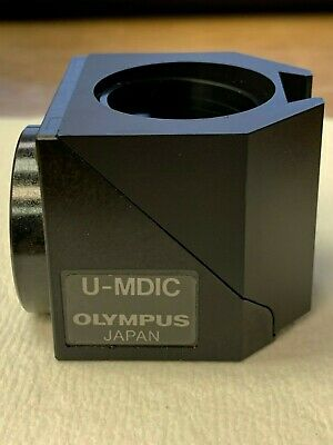 Olympus U-Mdic (Dic) Cube For Reflected Light - Use With Bx/Mx Series Microscope