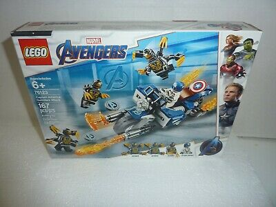 Outriders Attack 76123 Building Kit 167 P LEGO Marvel Avengers Captain America