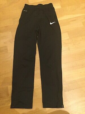 Boys Girls Nike Dri-Fit Jogging Bottoms Joggers Slim Fit Age 10-12 M Trousers