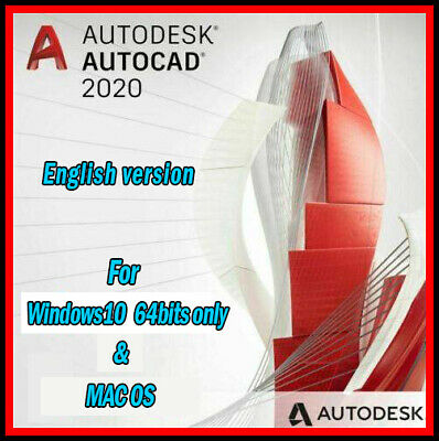 Autodesk AutoCad 2020 | 3 Year Academic License Windows & Mac - Fast Delivery