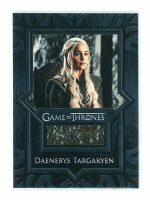 Game of Thrones Inflexions Daenerys Targaryen Coat Costume Relic Card VR11