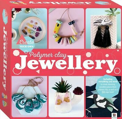 Polymer Clay Jewellery Create Your Own Activity Kit + 24 Page Instruction Book