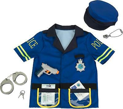 Klein POLICE OFFICER COSTUME WITH ACCESSORIES Role Play Toy Fancy Dress BNIP