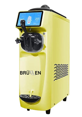Brullen Baby Countertop - Yellow Ice Cream & Frozen Yoghurt Machines