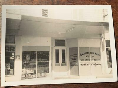 C 1950 Goldsbrough Mort & Co Wool Brokers station supplies auctioneers photo