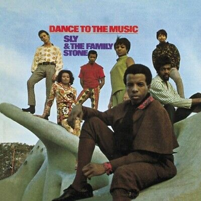 Sly & The Family Stone - Dance To The Music   Cd New