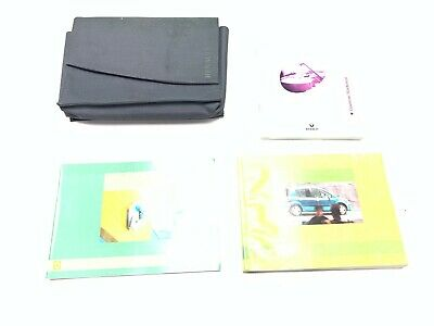 Genuine Renault Modus Ph1 Owners Manual Hand Book 2004-2007