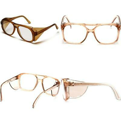Pyramex Monitor Safety Glasses Caramel Frame with Clear Lens