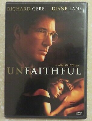 UNFAITHFUL WIDESCREEN SPECIAL EDITION DVD Richard Gere Diane Lane