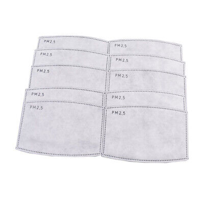 Replaceable Activated Carbon Filters Meltblown Cloth Filters For face mouth