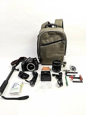 BIG Canon EOS Rebel T3i Camera Bundle - 5k Shutter count!