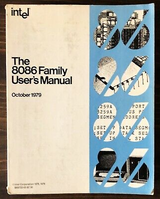 Intel The 8086 Family User's Manual Data Book 1979